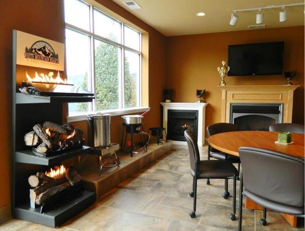 Propane Fireplace Installation